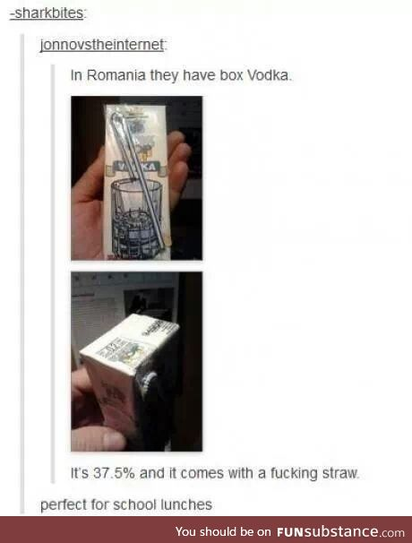 Ew if you drink hard alcohol with a straw you're a monster