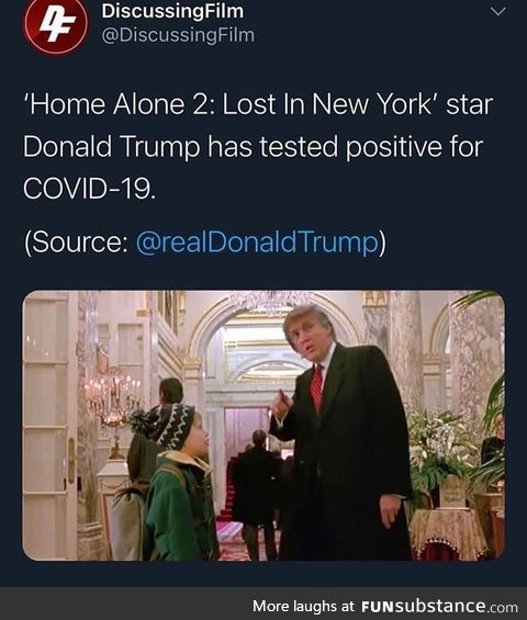 Well, yes, he was in Home Alone 2