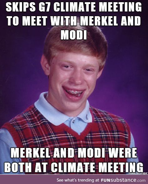 Fortunately, he thinks he met with them