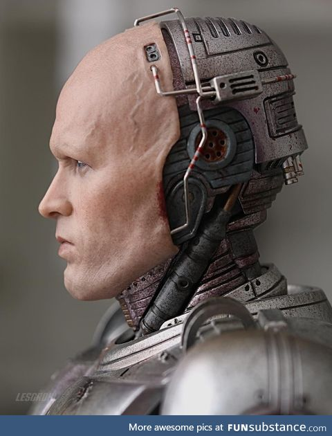 If you know Robocop, this is him without the mask. Murphy