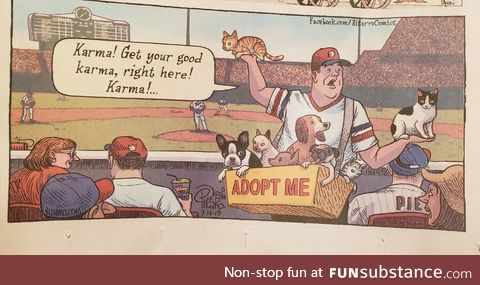 Noticed this yesterday in the Sunday comic strips