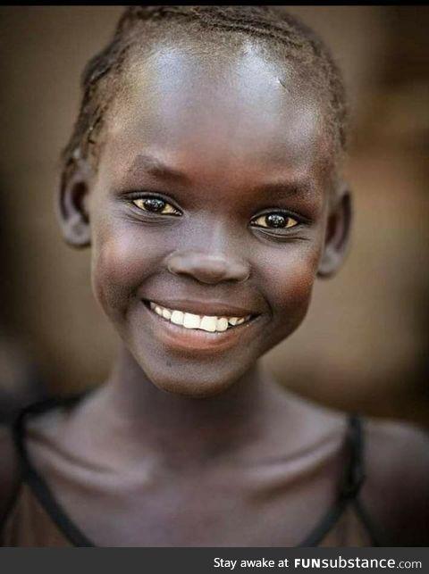 A happy Ethiopian