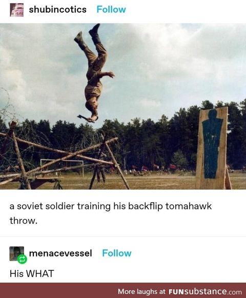 Nasty itchy burly Hawk