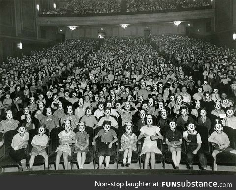 The original Mickey Mouse Club, ~1930