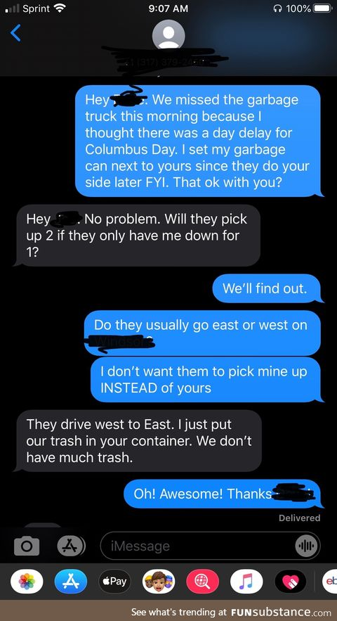 Brothers in garbage