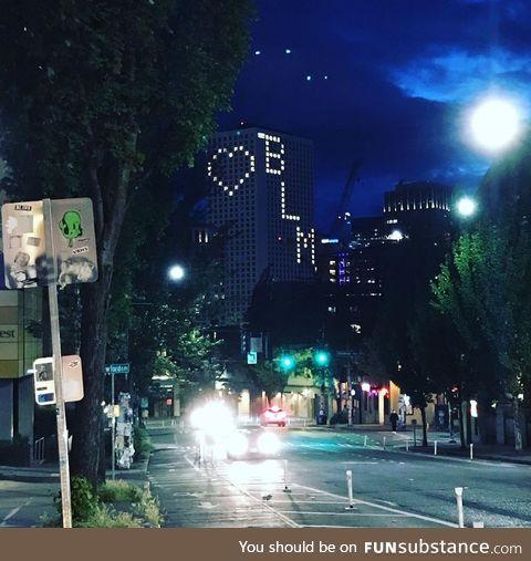 Seattle blm