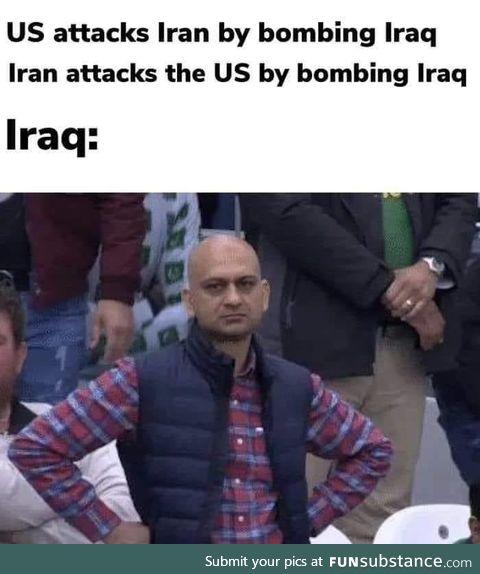 Iraq getting DPd