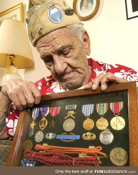 William Guarnere, 90, member of the World War II 'Band of Brothers.'