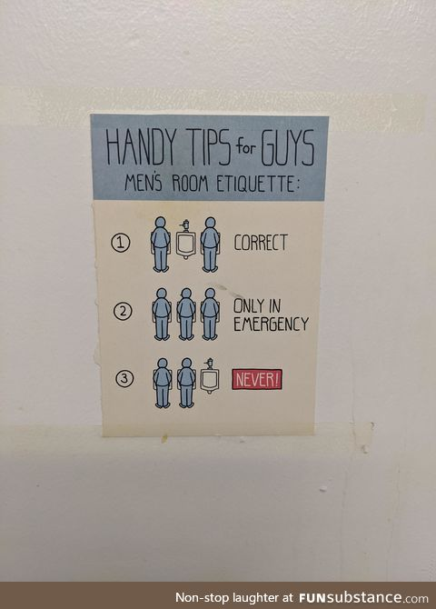 Handy tips for guys