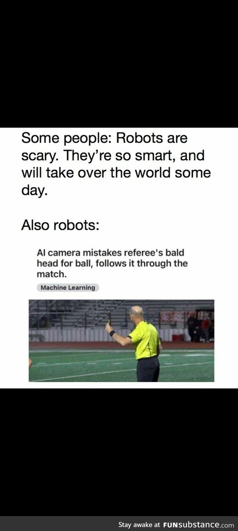 Robots are smartasses