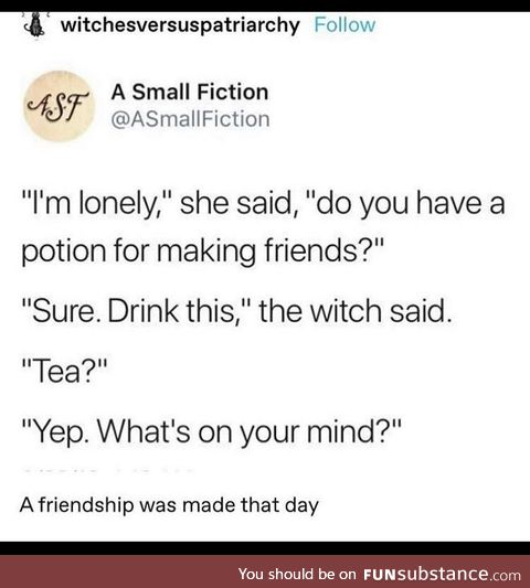 Give witches a chance
