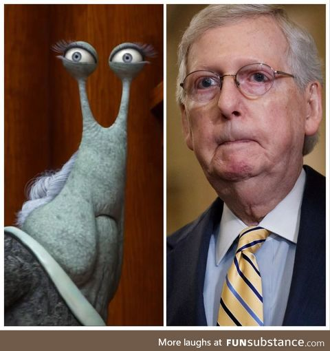 Rewatched Monsters University and saw Moscow Mitch