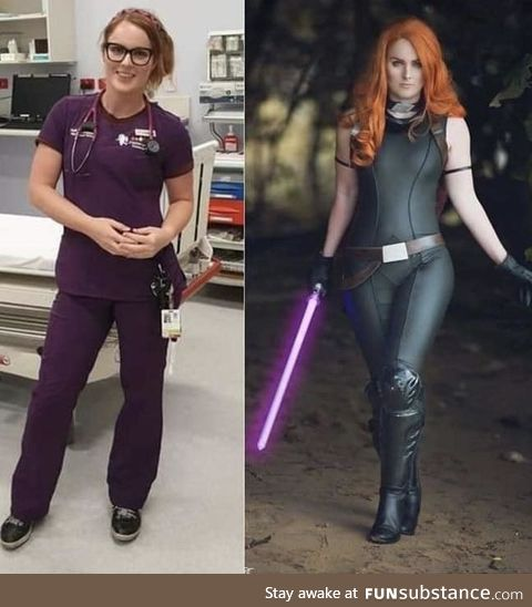 Mara Jade cosplay by registered nurse