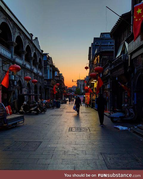 Beijing at sunrise