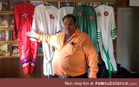 Daryl Davis, who helped over 200 people to leave racist organisations