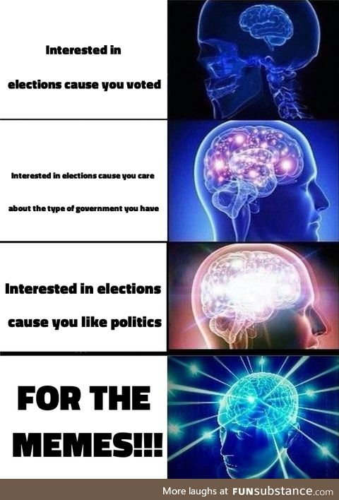 Elections are a fun time