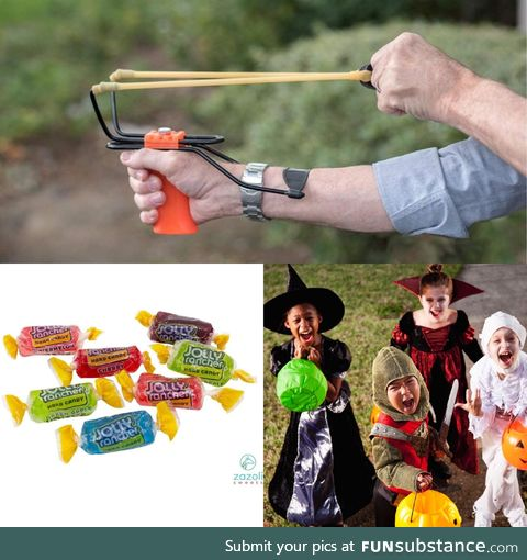 Socially Distant Trick or Treating
