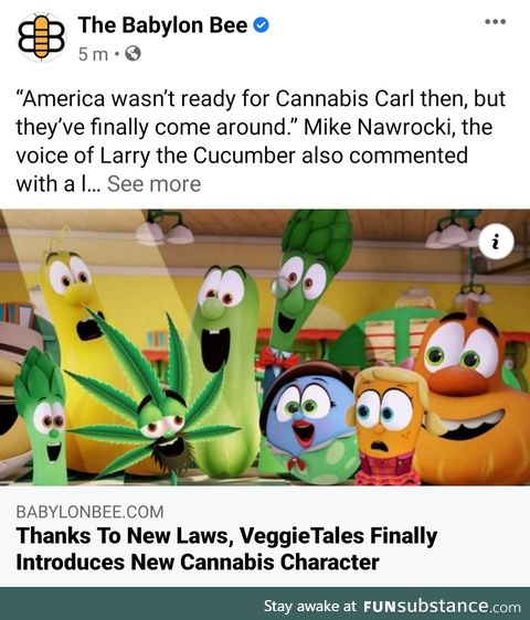 Legalisation leads to new cartoon characters Carl!