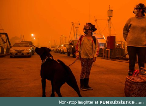 Australia right now looks like some sort of post-apocalyptic movie