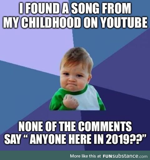 In fact, the newest comment is still a couple years old