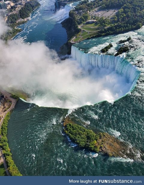 A unique view of Niagara Falls