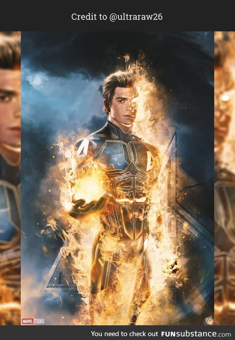 Could you see Andrew Garfield as the Human Torch?