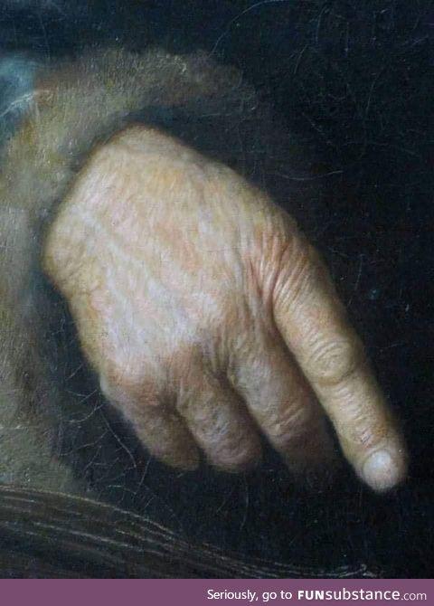 Rembrandt (detail) .
