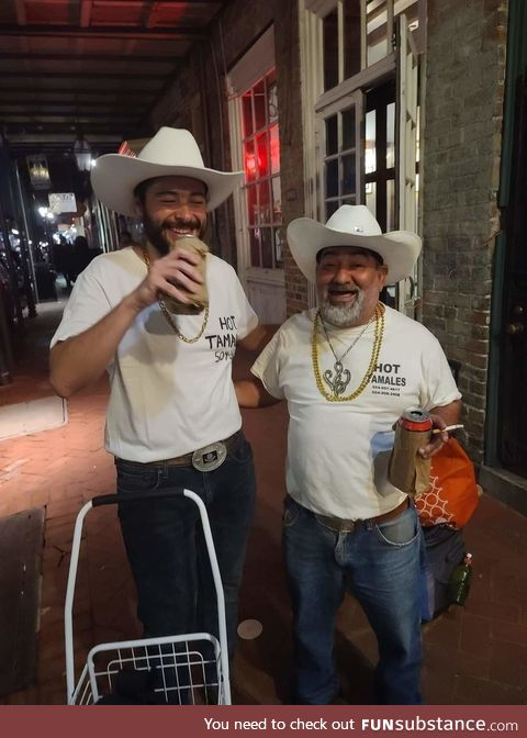 This guy is a staple in the NOLA community. Yesterday someone dressed as him for