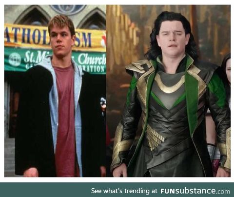 In Thor: Ragnarok there is a very funny cameo from Matt Damon as Loki. More than a year