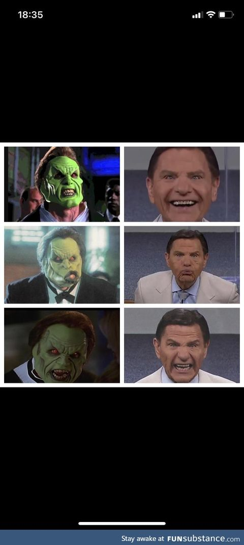 Dorian VS. Kenneth Copeland. You're welcome