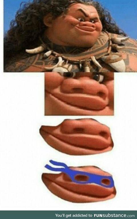 Teenage mutant ninja nostrils