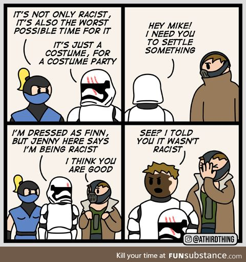 Costume Party - A Third Thing (Bonus Panels in comments!)
