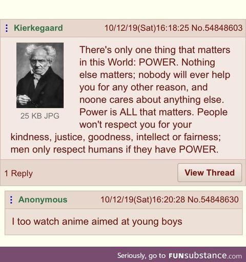 Anon watches anime