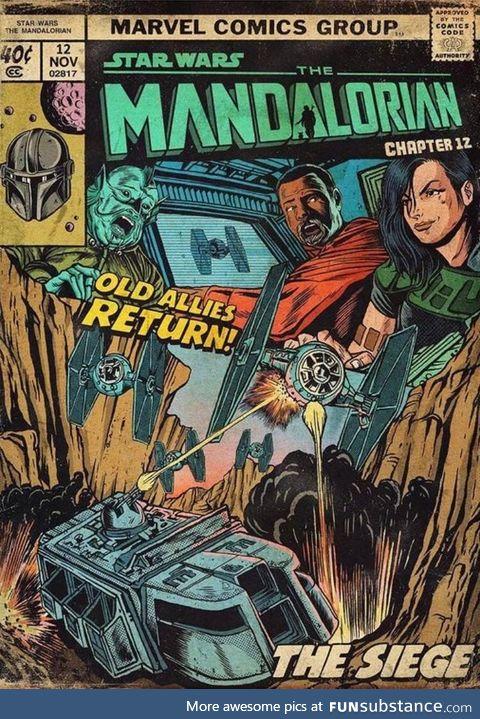 Love this Mandalorian Cover.