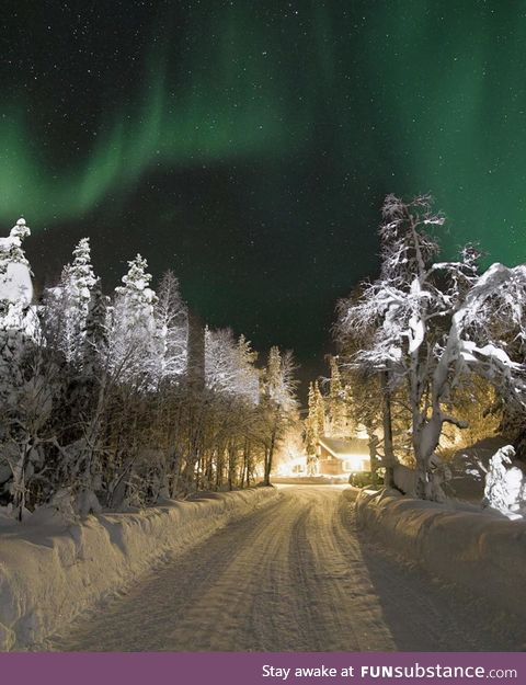Finnish Lapland (photo credit in comments)