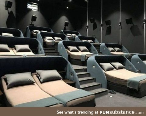 If you'll hear a clapping sound during a movie, most likely that is not a round of