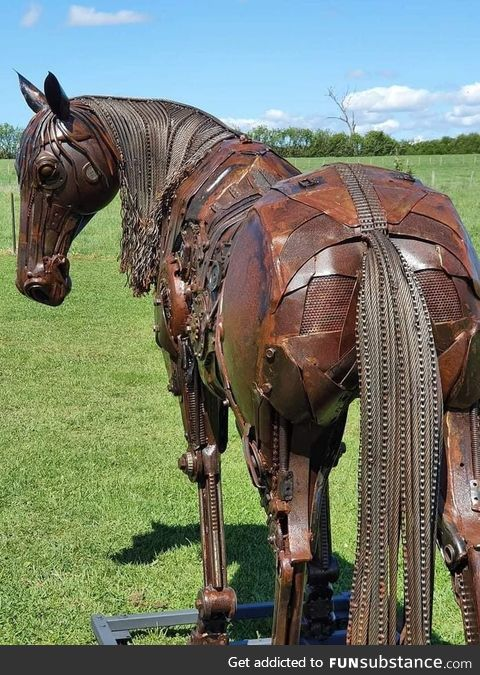 Made from Old Farm Equipment