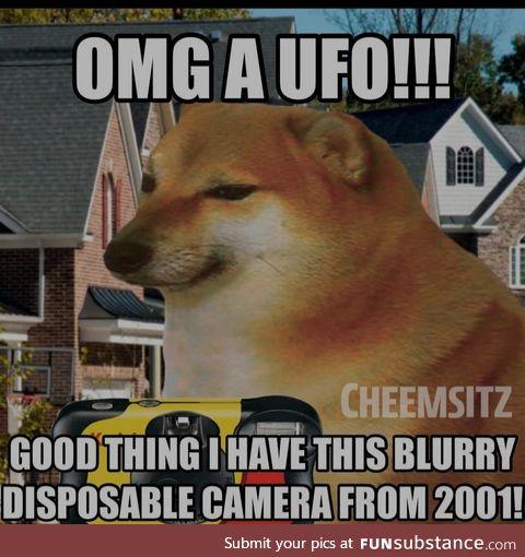 Ufo moment