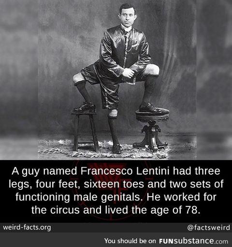 How did this three-legged man work?