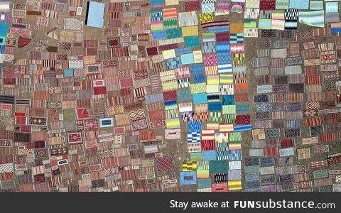 Carpet field - antalya, turkey