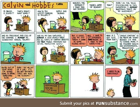 Calvin and Hobbes has aged like fine wine