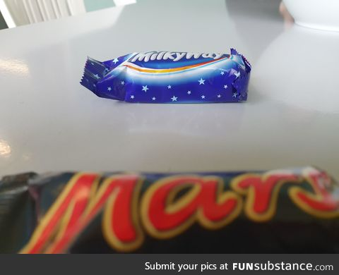 Rare Photograph of The Milky Way viewed from Mars