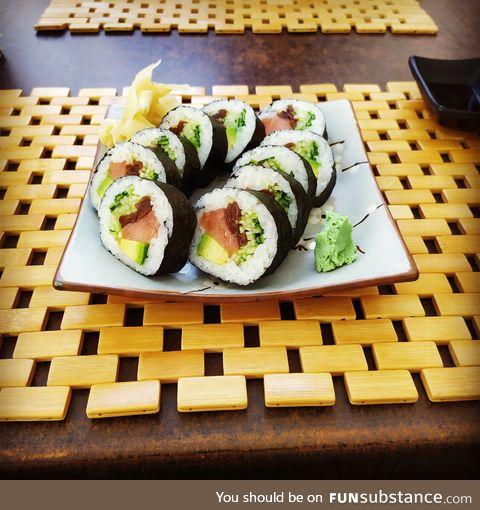 More sushi????