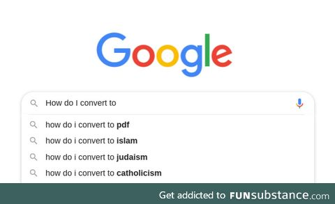 PDF has become the fastest growing religion in the world