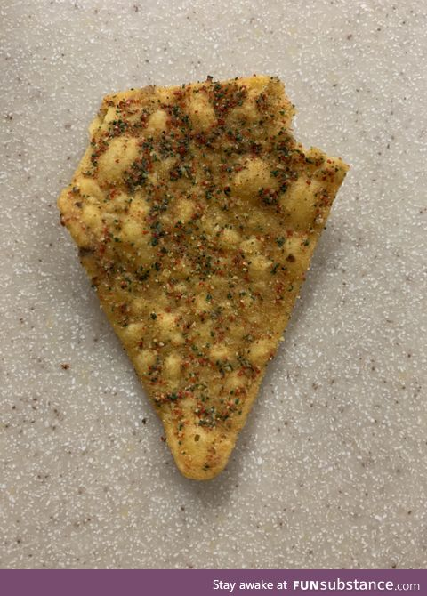 Overwhelmingly flavorful Cool Ranch Dorito chip