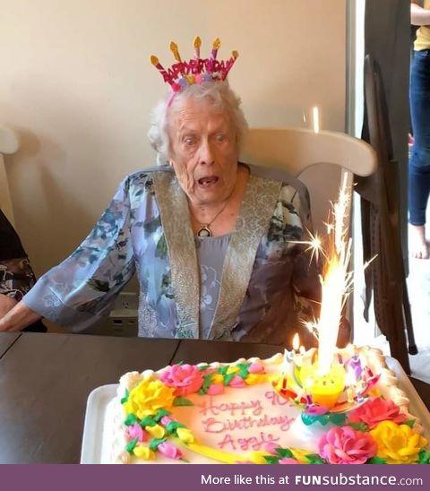 Happy 90th, Grandma Aggie!