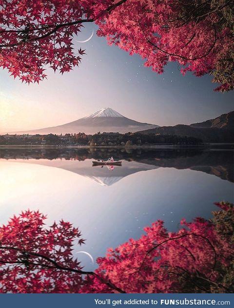Beautiful nature in the Japan. (Source: Siroj Ho'janazarov)