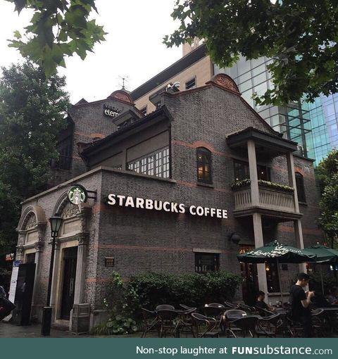 Starbucks in Xintiandi, Shanghai