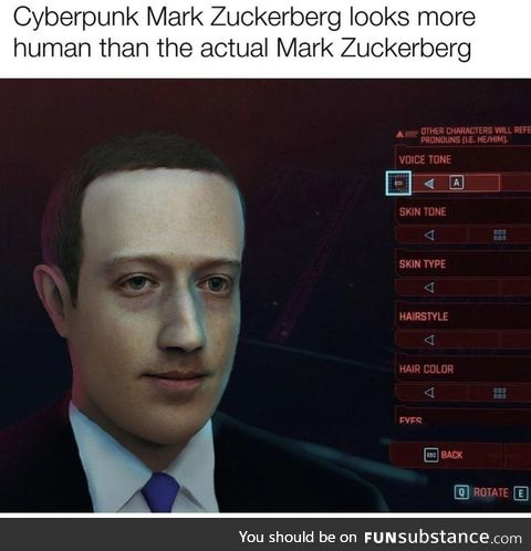 Real Zuckerberg is a Lizard Person