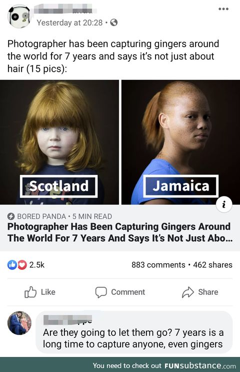 Release the Gingers!